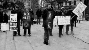 Anti-Racist Rally, December 2017